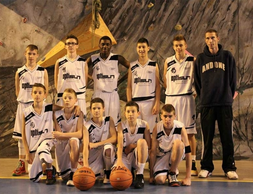 Optisun sponsor du club de basket de Saint-Claude